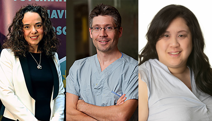 Andrea Gonzalez, Richard Whitlock and Teresa Chan have been named 2021 University Scholars by McMaster University